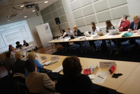 workshop at the International Conference in Riga